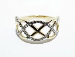 Arany női köves gyűrű (D25-Au86350)