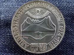 Ausztria, ezüst 100 Schilling 1978, Arlberg alagút / id 9045/