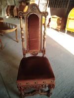 Spanyol antik lovagi szék