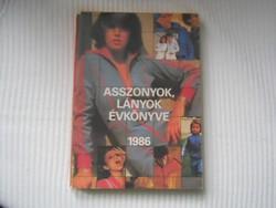 Évkönyv / Asszonyok-lányok 1986 /