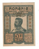 50 bani 1917 aUNC Románia