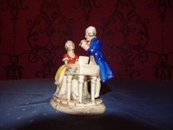 Cseh alt Wien porcelánfigura