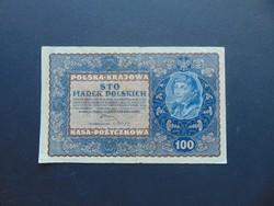 100 marek 1919 Lengyelország
