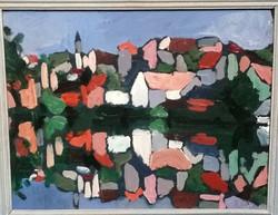 Bertus Barcza Anikó különleges festménye