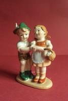 Eladó szép Lippelsdorf porcelán párocska