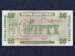 Anglia A brit fegyveres erők bankjegyei 50 New Pence bankjegy / id 14122/