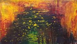 AUKCIÓ! MODERN Eredeti olajfestmény, közvetlen a művésztől!