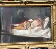 Glatter Ármin (1861 - 1931) Noi akt