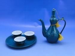 0C405 Észak Koreai porcelán teáskészlet