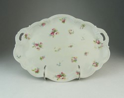 0P366 Régi ovális alakú osztrák porcelán kínálótál