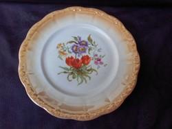 Zsolnay tányér, kínáló, asztalközép. Hibátlan darab.
