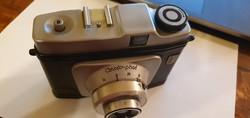 Certo-phot fényképezőgép eredeti bőr tokkal