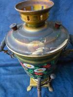 Retro orosz szamovár, vízforraló, teafőző. Elektromos kivitel. Nagy méretű. Elektromos kábel nélkül