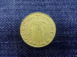 Báthory Zsigmond 1 dukát 1588 replika (nem arany) / id 3780/