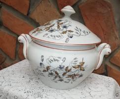 Régi porcelán levesestál, leveses tál, Jó masszív darab :) Nosztalgia :)