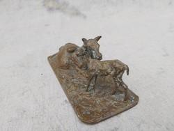 Christophe Fratin 1801-1864 Francia bronz szobor.
