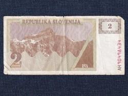 Szlovénia 2 tolar bankjegy 1990 / id 12815/