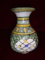 Gorka Géza kerámia váza, 17 cm magas.