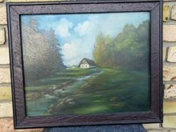 Fári Tibor festménye eladó