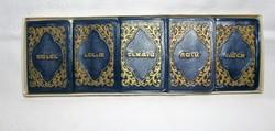 JUDAIKA The Five Books Of Moses  mini könyv sorozat