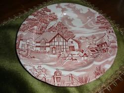 Francia fajansz tányér 20 cm