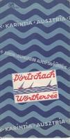 PÖRTSCHACH fürdőhelyi ismertető, idegenforgalmi kiadvány 1930as évek