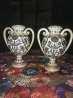 Fischer Ignác kerámia váza pár
