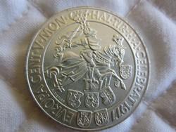 Osztrák Ausztria 100 shilling ezüst érme  24gr - 0.6400ag 1977