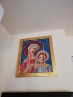 Prokop Péter: Madonna Olaj-farost