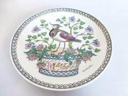 Ritka Hutschenreuther,csodaszép madaras falitányér