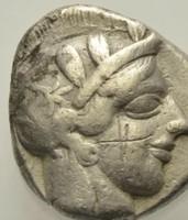 Attika Athén ezüst Tetradrachma    16.82g 24 mm