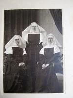 APÁCA -K FOTÓ FÉNYKÉP 1915 SZÉKESFEHÉRVÁR PETE GYULA