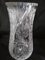 Ólomkristály nagy váza