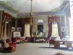 GÖDÖLLŐ Grassalkovich - kastély KIRÁLY DOLGOZÓSZOBA SZÍNES KÉPESLAP 1900