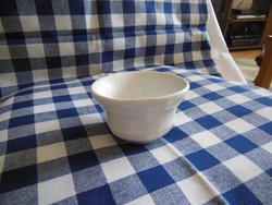Régi fajansz leveskiöntő csésze- leáraztam