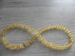 Gyönyörű citrin nyaklánc 46,5cm