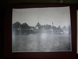 Városligeti tó Budapest művészfotó
