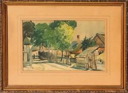 Báró Ruszkay György: Szikszón,1933