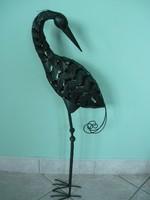Fém madár dekoráció