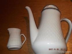 Szép régi német teás tejszines