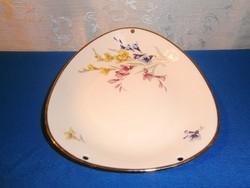 J_092 Bavaria Kronester porcelán asztalközép, kínáló tál