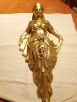 Barokk arany fali dísz ,konzol
