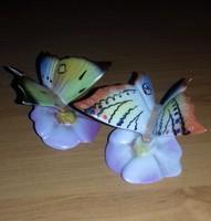 Drasche Porcelán Pillangó Páros