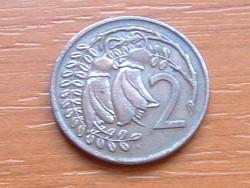 ÚJ-ZÉLAND NEW ZEALAND 2 CENT 1973 #