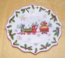 Villeroy & Boch porcelán karácsonyi kínáló, tál