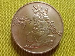 Magyar festők - Munkácsy Mihály ezüst 200 Forint 1976 / id 197/