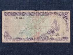 Maldiv-szigetek 5 Rúfia bankjegy 1983 / id 12944/