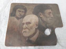 Vámbérszky Nagybányai festő alkotása 1918.