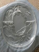 Gyönyörü osztott üveg kináló