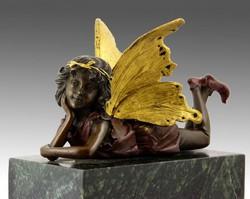 Angyal bronz szobor 779